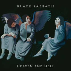 """Black Sabbath - Heaven And Hell (LP Pic Disc) - Original """"Smoking Angels"""" cover art by Lynn Curlee on the front and an illustration of the band by artist Harry Carmean on the back. The newly remastered audio - from line up Ronnie James Dio, Tony Iommi, Geezer Butler and Bill Ward - features tracks """"Neon Knights,"""" """"Die Young"""" & """"Heaven And Hell"""". Limited to 5000 Copies. (RSD216)"""