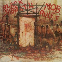 """Black Sabbath - Mob Rules (LP Pic Disc) - The newly remastered audio - from line up Ronnie James Dio, Tony Iommi, Geezer Butler and Vinny Appice - features the tracks """"The Mob Rules,"""" """"Turn Up The Night"""" & """"The Sign Of The Southern Cross"""". Limited to 5000 copies. (RSD215)"""