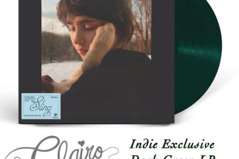 Clairo - Sling LP in Indie Exclusive Dark Green Preorder