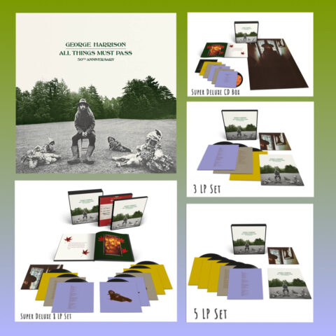 George Harrison - All Things Must Pass - 50th Anniversary Reissues