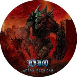 """Dio - God Hates Heavy Metal (12"""") - Picture Disc celebrating Dio's Angry Machines LP. A-Side is the out-take """"God Hates Heavy Metal"""" the B-side has """"This is Your Life"""" (studio) and """"Hunter of the Heart"""" (Live) (RSD2036)"""