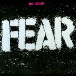 """Fear - The Record (LP+7"""") - 140g clear and white mixed vinyl, comes with a bonus 7"""" Christmas  single pressed on transparent red vinyl  in a repro of the original picture sleeve. Also include a cardboard stencil of the Fear logo(RSD2047)"""