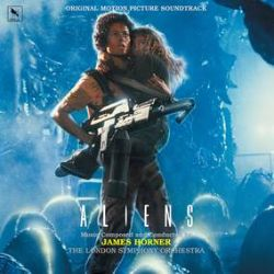 """James Horner - Aliens - Original Soundtrack (35th Anniversary Edition) (LP) - One of the great science fiction franchises of all-time. The long out of print original soundtrack gets a fresh reboot on """"Acid-Blood"""" Yellow-Green vinyl for it's 35th anniversary. Soundtrack composed by the great James Horner, (Titantic, Avatar, Beautiful Mind), and features the original Sigourney Weaver key art and original film stills. (RSD2145)"""