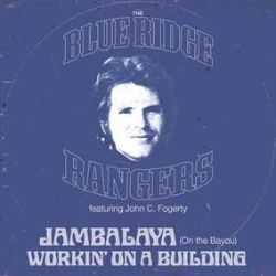 """John Fogerty - Blue Ridge Rangers EP (12"""") - Blue vinyl press of the two key singles from Fogerty's debut solo album The Blue Ridge Rangers, backed with original B-Sides """"Workin' On A Building"""" & """"Somewhere Listening (For My Name)"""" (RSD2049)"""