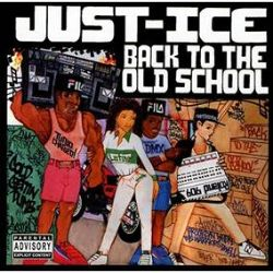 """Just Ice - Back To The Old School: 35th Anniversary Edition (LP) - This marks the 35th Anniversary of this old school classic, Get On Down presents """"Back To The Old School"""" in an exclusive splatter colored vinyl pressing with a deluxe commemorative OBI strip. The release serves as a punctuation mark at the end of the old school of Hip Hop with production by none other than Kurtis Mantronik of acclaimed electronic hip-hop group Mantronix. (RSD2075)"""