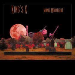 King's X - Manic Moonlight (LP) - First time on vinyl, 2000 copies, hand numbered, neon orange vinyl. (RSD2081)