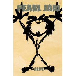 """Pearl Jam - Alive (CASS) - 2021 marks the 30th anniversary of Pearl Jam's iconic debut album 'Ten'. """"Alive"""" was the first single off the album and 30 years later it's being reissued as both a 12"""" and a cassette single. (RSD2113)"""