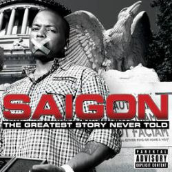 Saigon - Greatest Story Never Told (2LP) - Compared by some to hip-hop classics like Nas' 'Illmatic,' and is available for the first time on vinyl features on this album include: Fatman Scoop Q-Tip Jay-Z Swizz Beatz Faith Evans Marsha Ambrosius Raheem DeVaughn Devin The Dude Layzie Bone Our Babies Black Thought Bun B. 10th anniversary edition.  (RSD2129)
