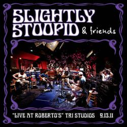 """Slightly Stoopid - Live At Roberto's TRI Studios (4LP) - Join Slightly Stoopid as they lay down their grooves at Bob Weir's (Dead & Company) TRI Studios. The band brought along some of their good friend to perform stripped down and intimate renditions of """"Closer To The Sun, Wiseman, Devil's Door, I Know You Rider (three tracks featuring Bob Weir) and many more. Tommy Chong co-hosted the session. Numbered - silver foil - silver and black smoke vinyl Includes covers of Dead, Meters, and others. (RSD2134)"""