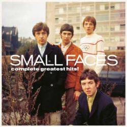 """Small Faces - Complete Greatest Hits! (LP) - For the first time ever, all of the Small Faces classic Decca and Immediate singles from 1965-1969 are included on 1-LP. All have been newly remastered to vinyl from the original master tapes.  All the correct single versions (including USA-only 7-inch 'Mad John' from UK no.1 LP 'Ogdens' Nut Gone Flake') have been included and sound incredible in their original mono mixes! Pressed on red, white and blue """"Mod"""" splatter-vinyl and limited to 3,000 copies worldwide exclusive to Record Store Day 2021. Each LP will also come with a colour postcard with the LP cover artwork, hand-signed by Small Faces drummer Kenney Jones on one side and a facsimile of a Decca band member biog on the other side.  (RSD2135)"""