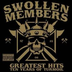 """Swollen Members - Ten Years of Turmoil Greatest Hits (2LP) - 2021 marks the band's 20 year anniversary. Ten Years of Turmoil Greatest Hits LP, has never been released on vinyl. The packaging will be upgraded and include 1-2 bonus tracks one of which is a brand new Swollen Members song. """"Tetris"""" produced by Rob the Viking and is the first new music from the band in years. (RSD2154)"""