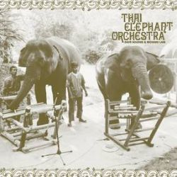 Thai Elephant Orchestra - Thai Elephant Orchestra (LP) - Elephants in the Thai jungle playing specially designed musical instruments. The elephants improvise the music themselves. Co-founded by Richard Lair of the Thai Elephant Conservation Center in Lampang and performer/composer Dave Soldier. This is the first vinyl pressing and includes new liner notes from Dave Soldier.  (RSD2158)