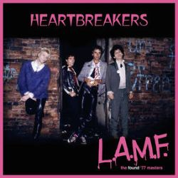 """The Heartbreakers - L.A.M.F. - the found '77 masters (LP) - (Pushed back to 7/30. Add to the wishlist to have one held). In 2020 a chance meeting led to Daniel Secunda's archives. He was an old-school music biz pioneer who understood punk, was a Track Records director - and the Heartbreakers 'L.A.M.F.' co-producer. In amongst his many tape boxes were two with no artist name, marked 'Copy Master 12.7.77'. They turned out to be a crystal-clear 'L.A.M.F.', just as the band and producers intended it. Purple vinyl. Inner bag with new notes by Simon Wright, plus a 12"""" poster with Roberta Bayley cover outtake pic 1200 copies. (RSD2066)"""