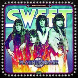 The Sweet - Platinum Rare (2LP) - Platinum Rare captures the four founding and original members of the legendary Glam/Hard Rock band The SWEET. This rare collection comes from the personal vault of Sweet lead guitarist Andy Scott. Many of these listed tracks never saw the light of day on any SWEET release which will make this collection incredibly in demand for the starving classic SWEET/Vinyl collector looking for more rarities.  (RSD2153)