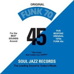 """Various Artists - Funk 70 (7"""" BOX) -  Soul Jazz Records' Funk 70 collectors 7' Box Set comprising five fantastic 70s rare funk seven-inch singles reproduced here in exact replica bespoke label artwork and all digitally re-mastered. Seriously rare, killer and classic funk tunes brought together here in this unique one-off pressing for RSD 2021. (RSD2162)"""