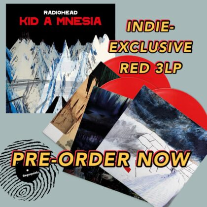 Radiohead-KID A Mnesia-Pre-order